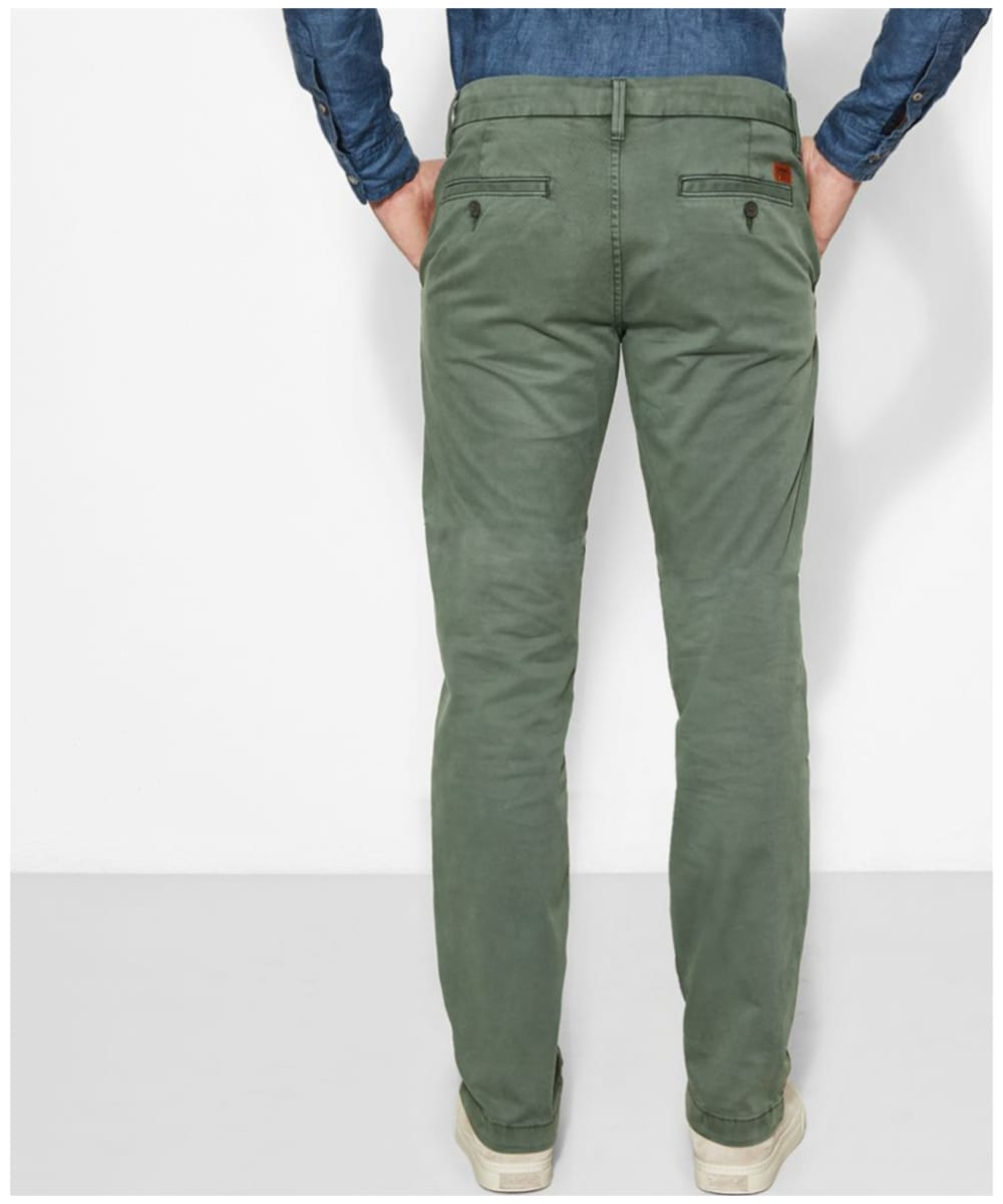 matching in colour authentic quality on feet at Men's Timberland Squam Lake Stretch Twill Chinos