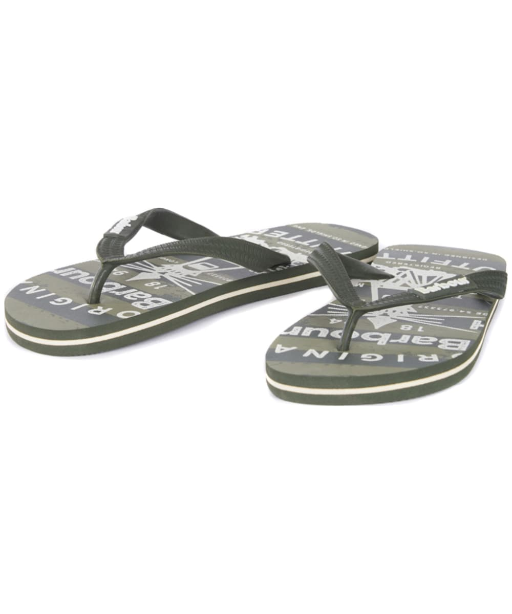 1bdd84be5cb035 ... Men s Barbour Beacon Beach Sandals - Olive ...