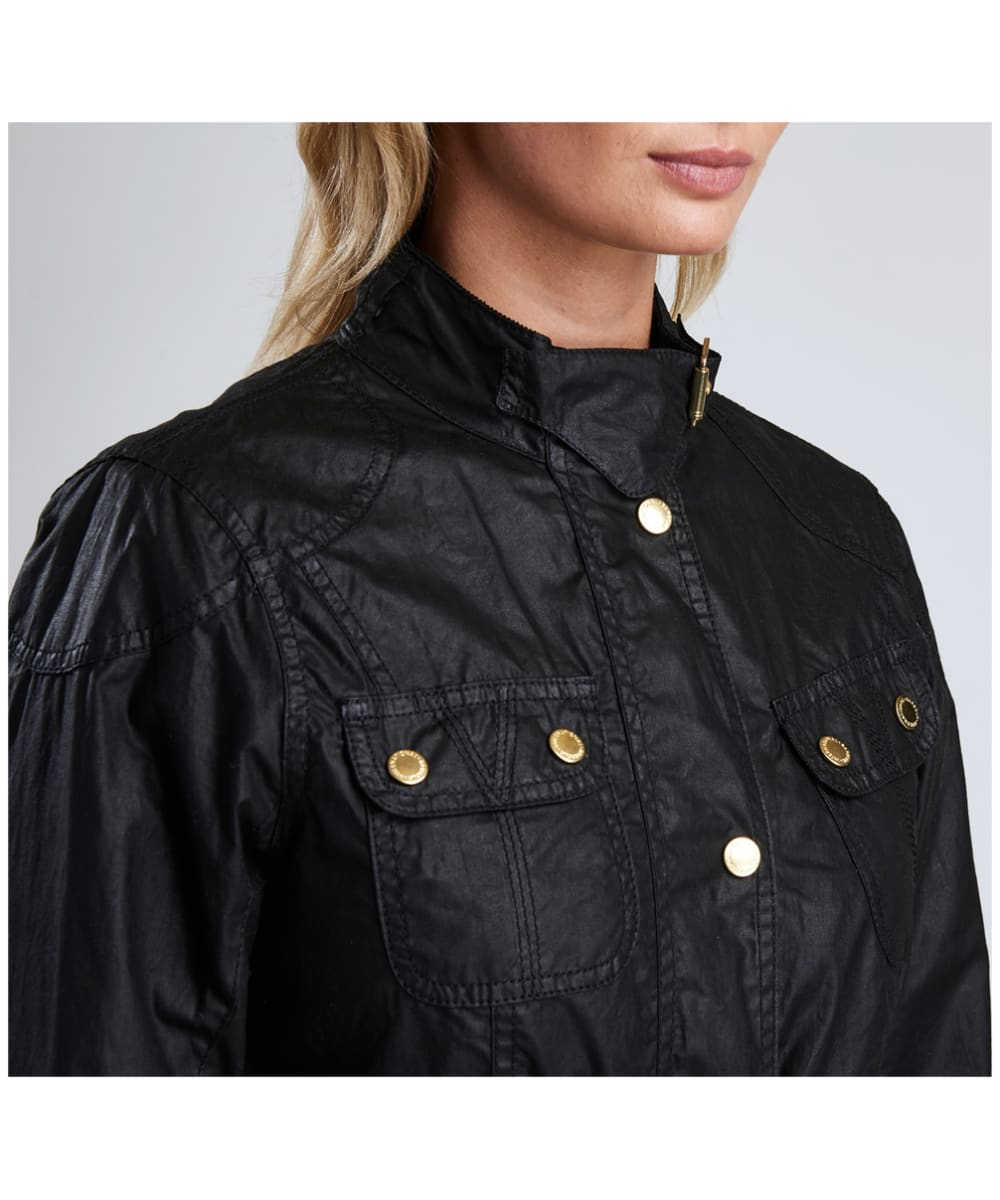 Women S Barbour International Anglesey Waxed Jacket