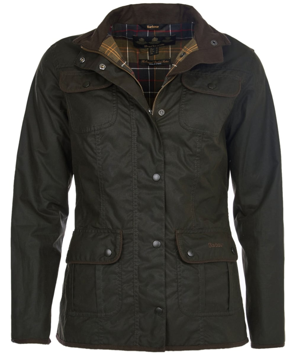 Women s Barbour Utility Waxed Jacket - Olive 1844980cc1