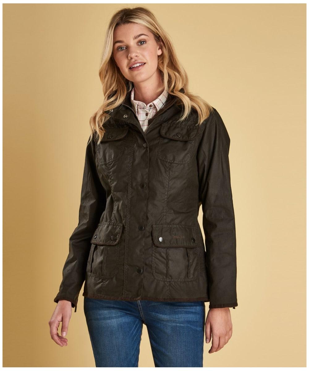 d3347b67f Women's Barbour Utility Waxed Jacket