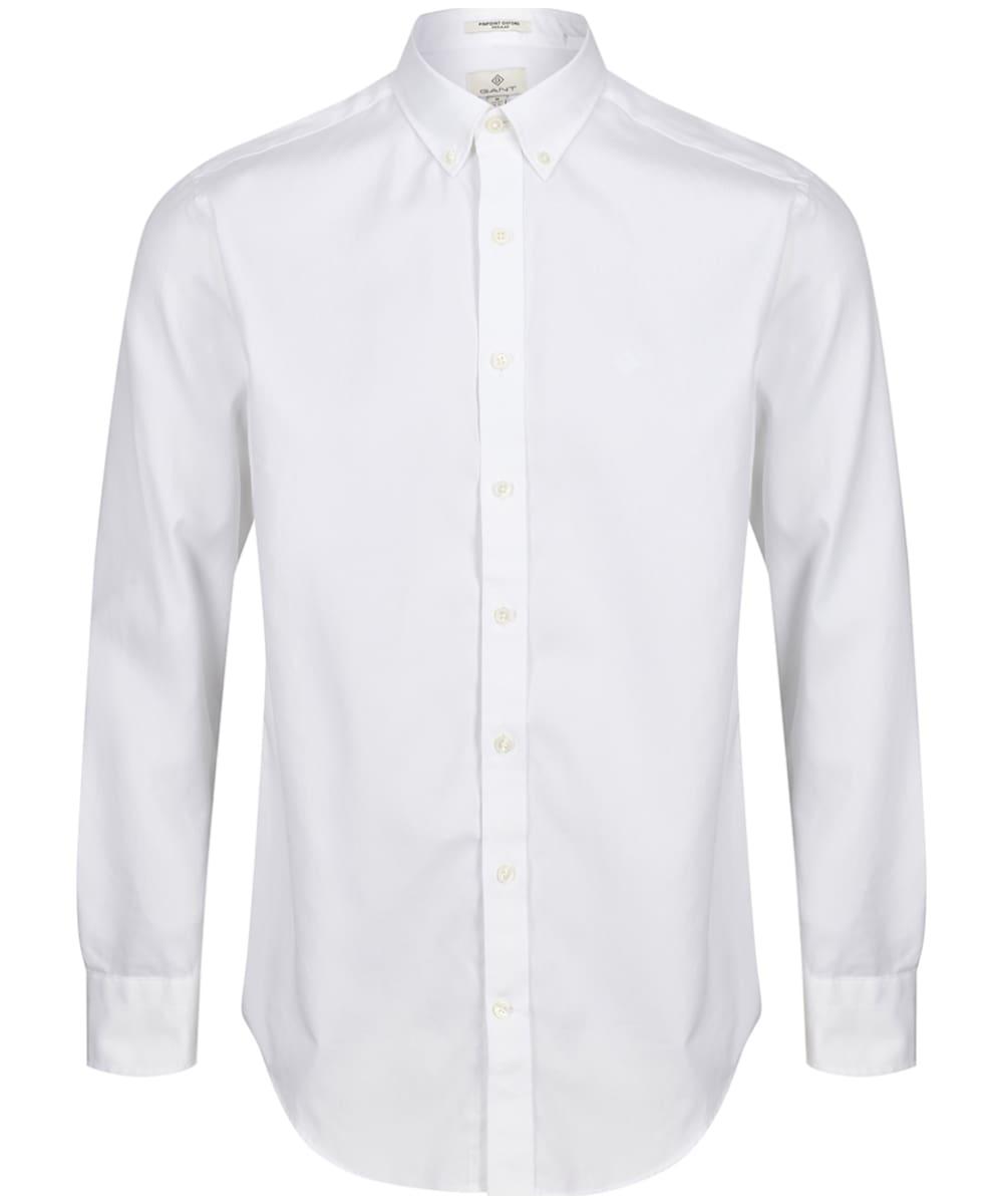 3249db65c3 Men's GANT Regular Pinpoint Oxford Shirt - White