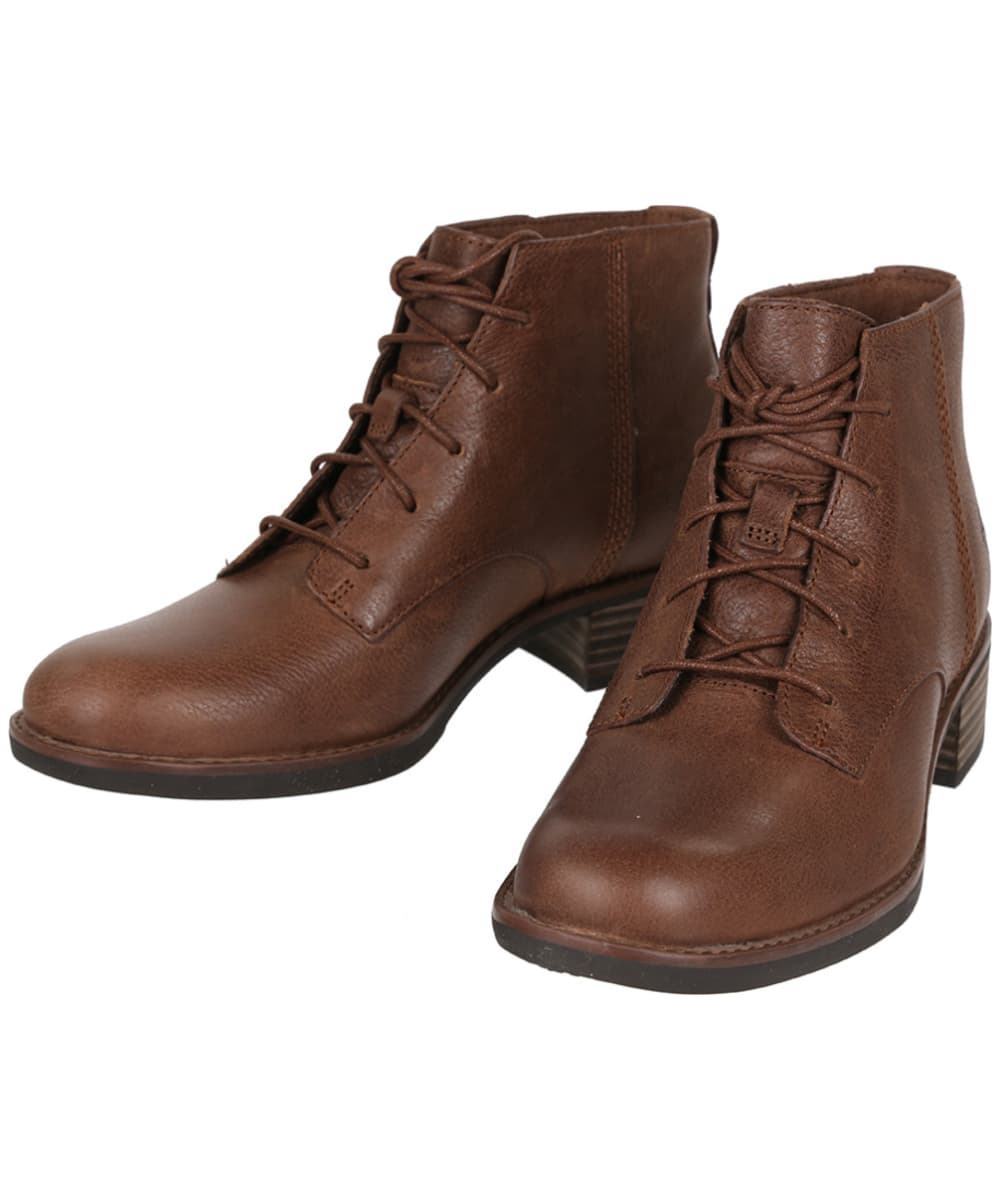 5971feeafc33 ... Women s Timberland Beckwith Lace Up Chukka Boots - Dark Brown