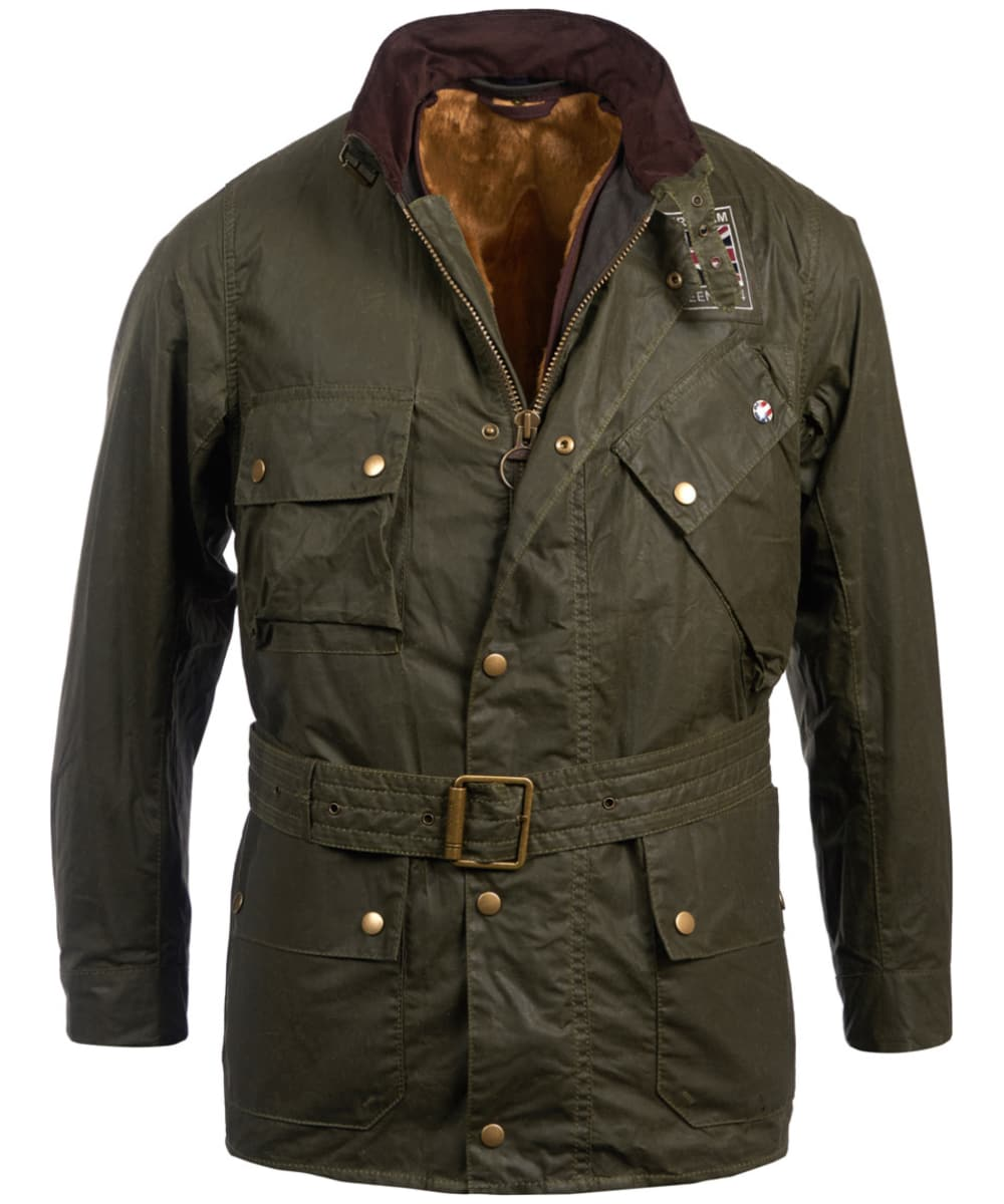 preview of new & pre-owned designer most fashionable Men's Barbour Steve McQueen Joshua Wax Jacket