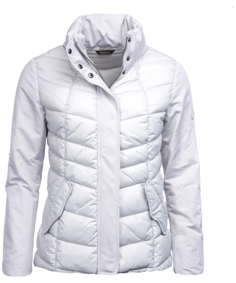 77d9f737df01a Women s Barbour Hayle Quilted Jacket - Ice White