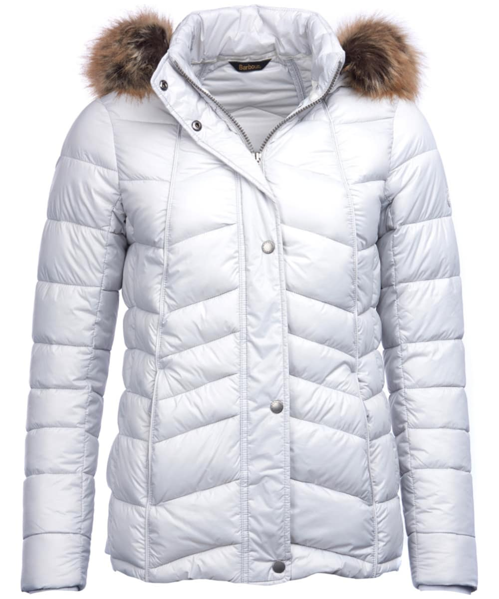 8c22ba894ce3a Women s Barbour Bernera Quilted Jacket - Ice White