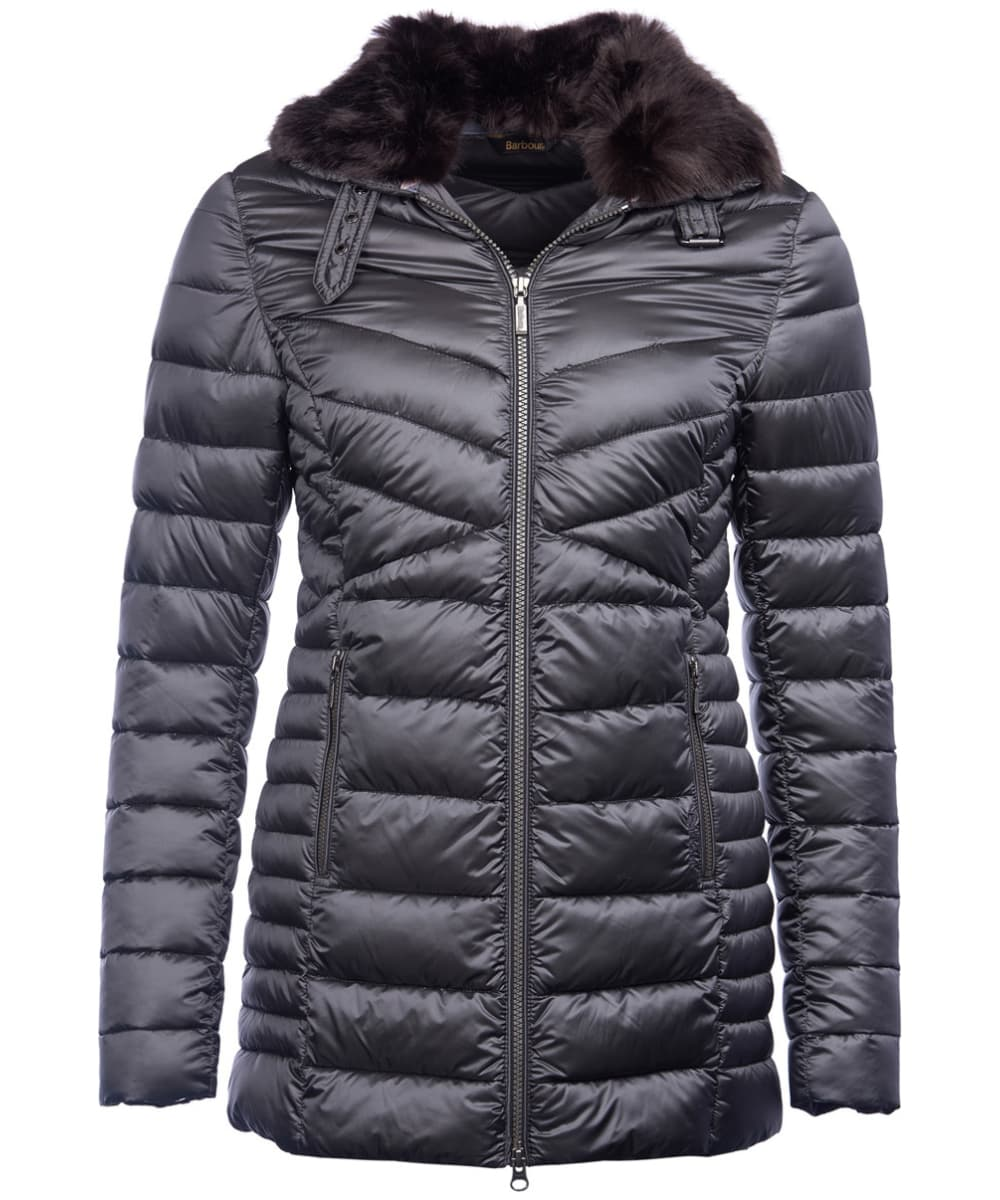 13fa015baa97c Women s Barbour Lomond Quilted Jacket - Ash Grey