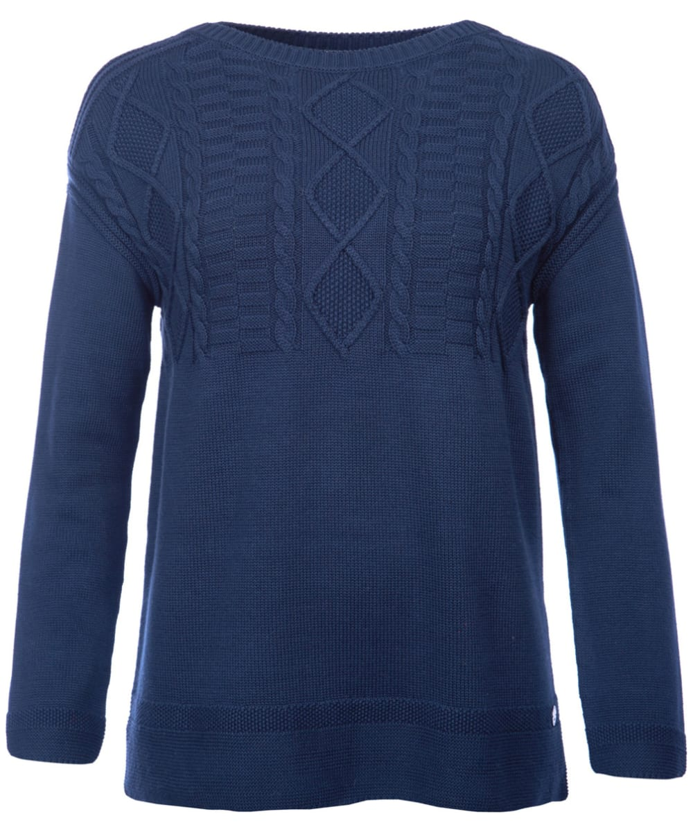 3667a2cdbd26c2 Women's Barbour Weymouth Knitted Sweater - Navy