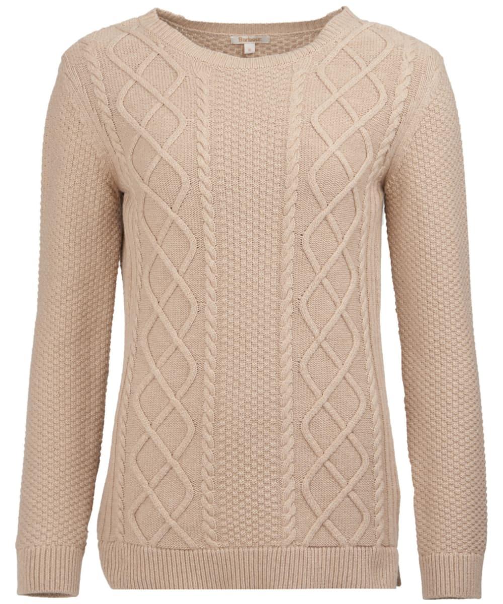 Women s Barbour Leith Crew Neck Sweater - Caramel 5d18d64ddf826