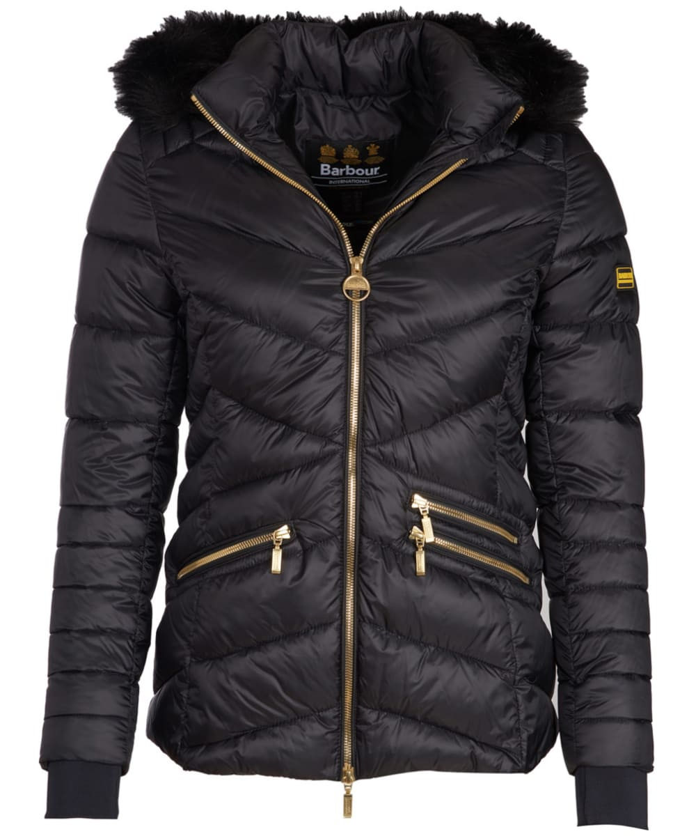 715d3982c98233 Women's Barbour International Turbo Quilted Jacket - Black