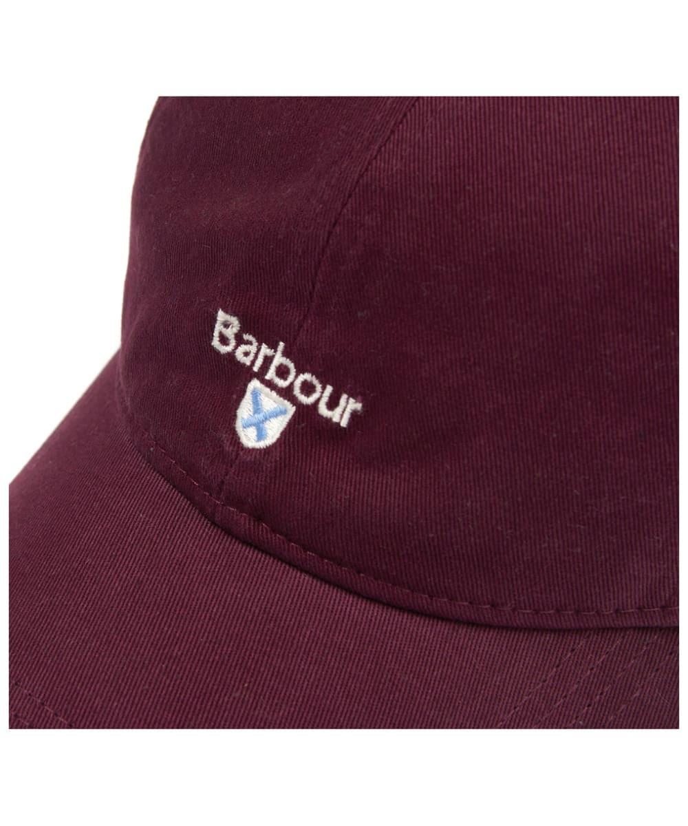 b27909e763b ... Men s Barbour Cascade Sports Cap - Merlot ...