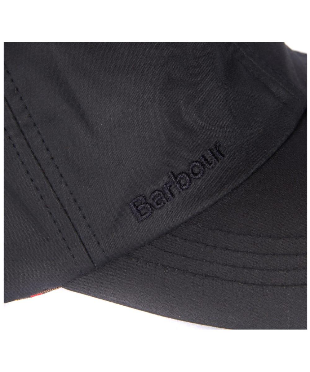 ... Men s Barbour Prestbury Sports Cap - Black ... 3f07fe9c5265