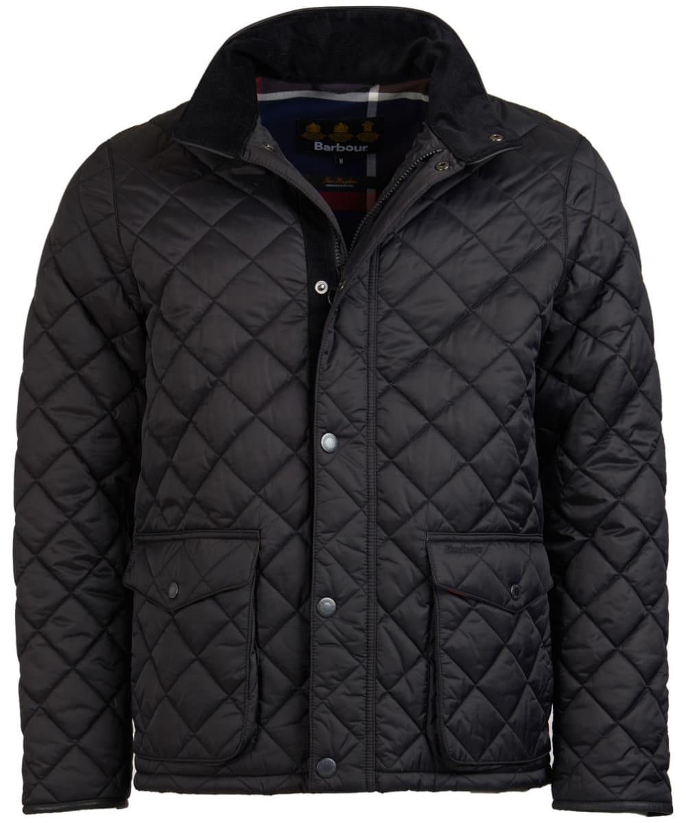 74b7fecd11a77 Men's Barbour Evanton Quilted Jacket - Black