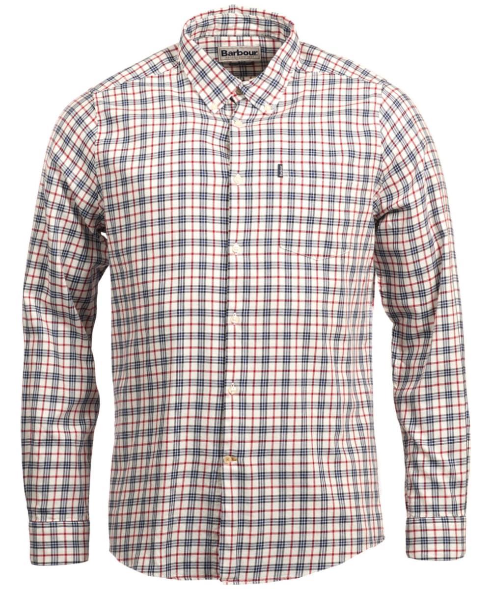 c22d012d Men's Barbour Stapleton Country Check Shirt - Whisper White