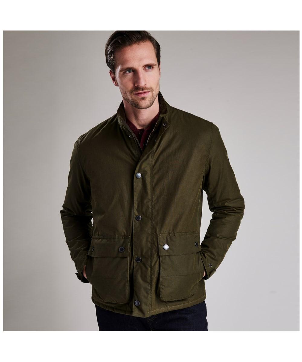 8e505d3f9802 Men s Barbour International Armour Waxed Jacket