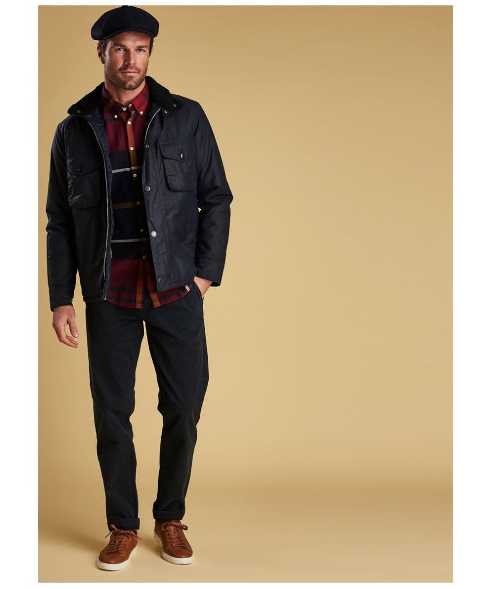 Men S Barbour Netherley Waxed Jacket