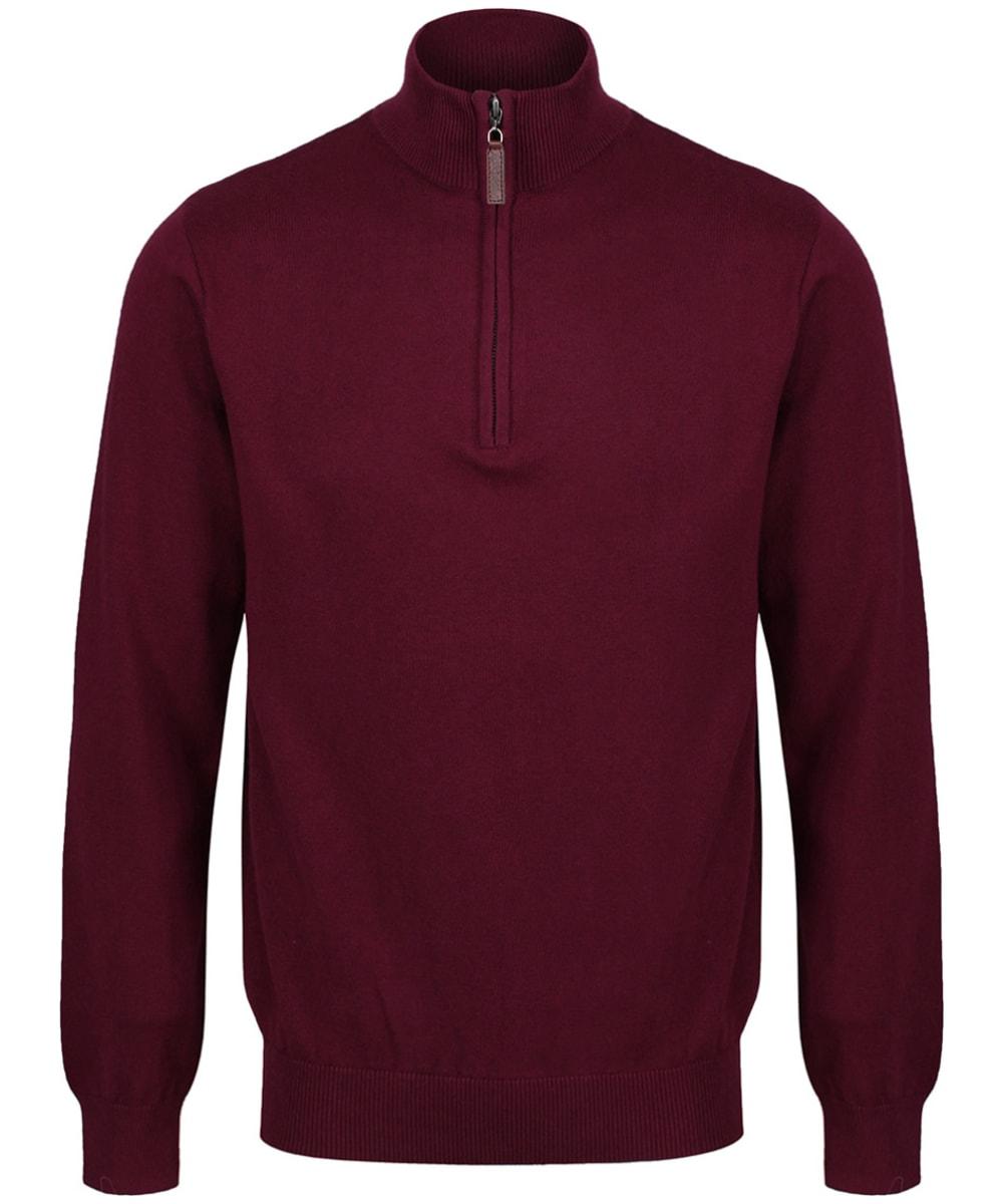 wide range latest fashion fashion style Men's Schoffel Cotton ¼ Zip Jumper