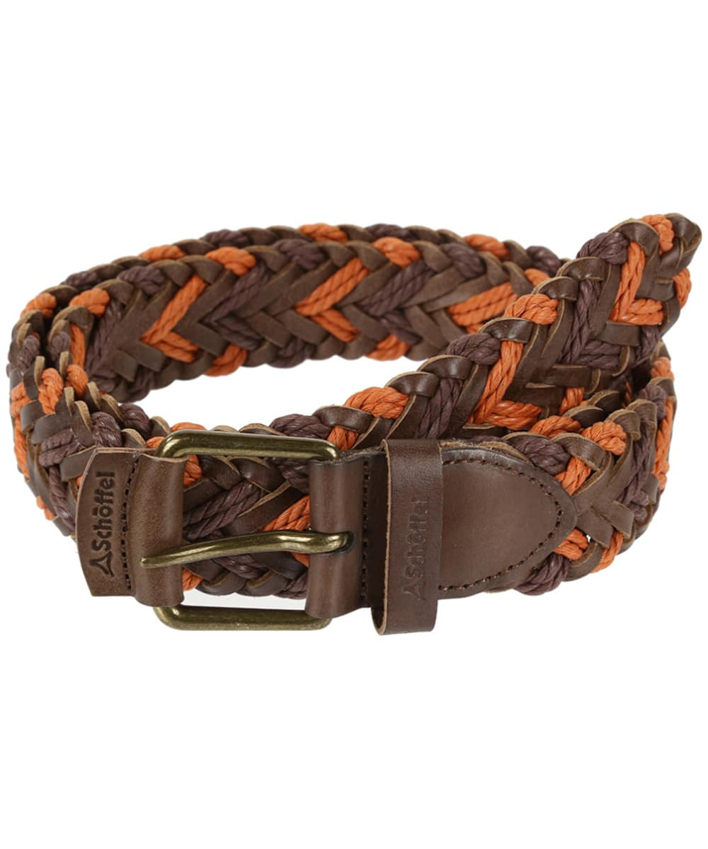 Schoffel Woven Leather Belt