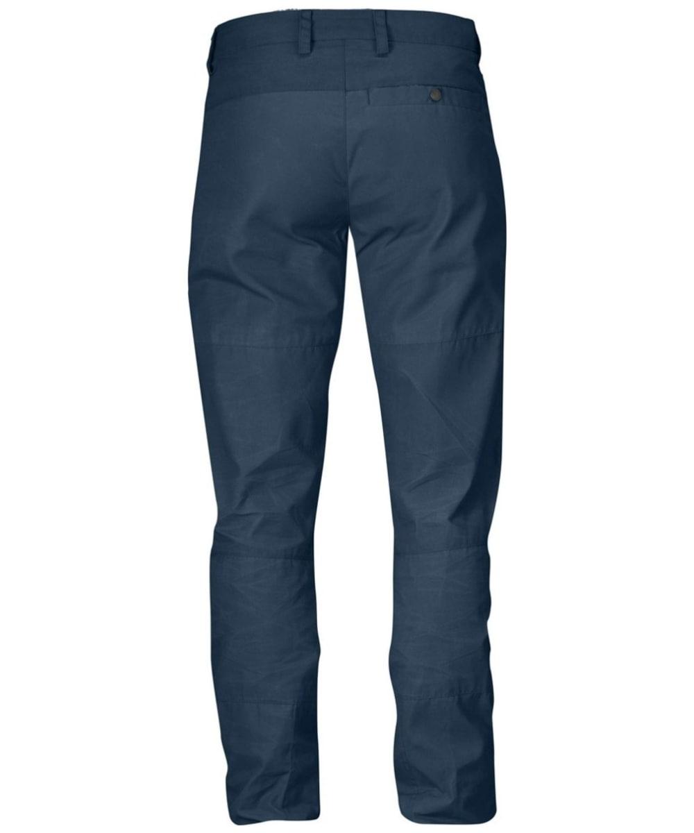 f081a57a ... Men's Fjallraven Nils Trousers - Uncle Blue ...
