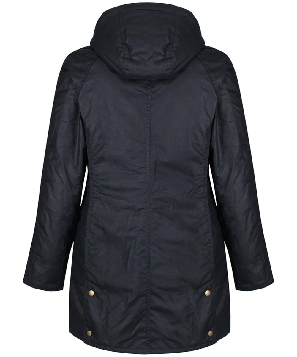 ... Women s Barbour Bower Wax Jacket - Navy ... 058a42ceaa