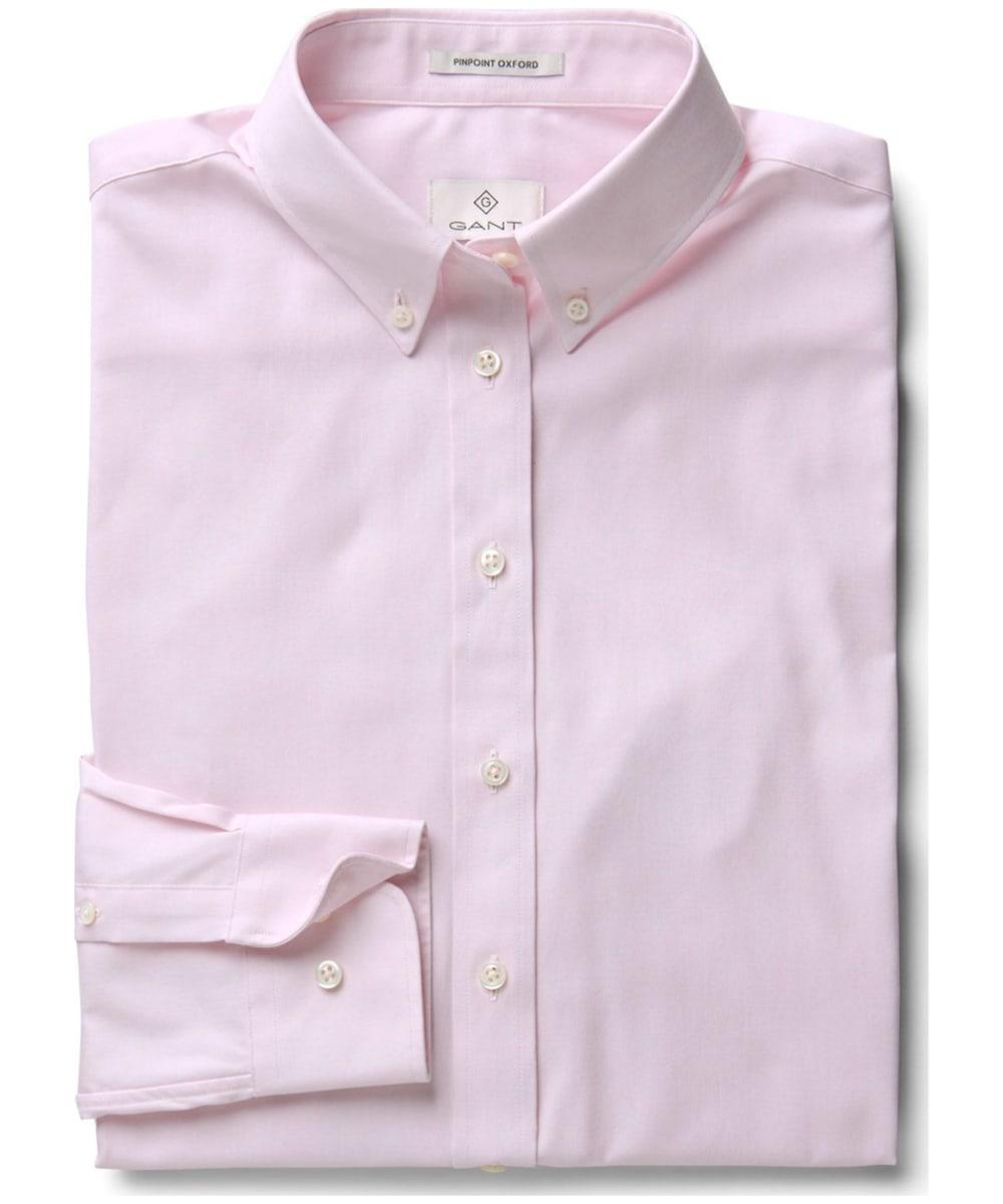 6a46c2783f2 ... Women's GANT Diamond G Pinpoint Oxford Shirt - Blossom ...