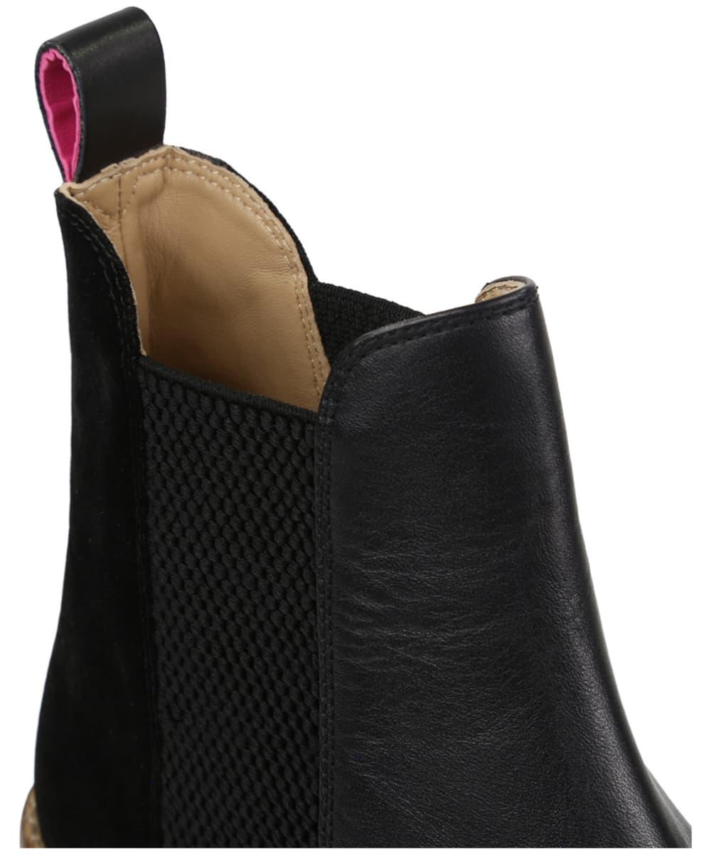7d3ea2a3a57c ... Women's Joules Westbourne Leather Chelsea Boots - Black Velvet ...