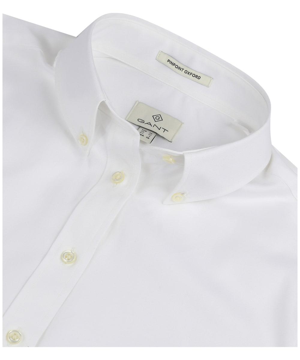 c72c082a086 ... Women's GANT Diamond G Pinpoint Oxford Shirt - White ...