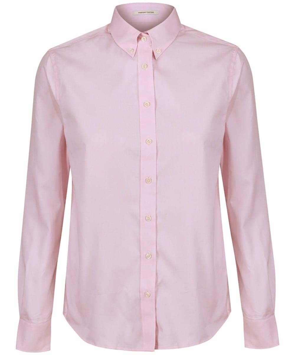 07a8e3e3c98 Women's GANT Diamond G Pinpoint Oxford Shirt - Blossom