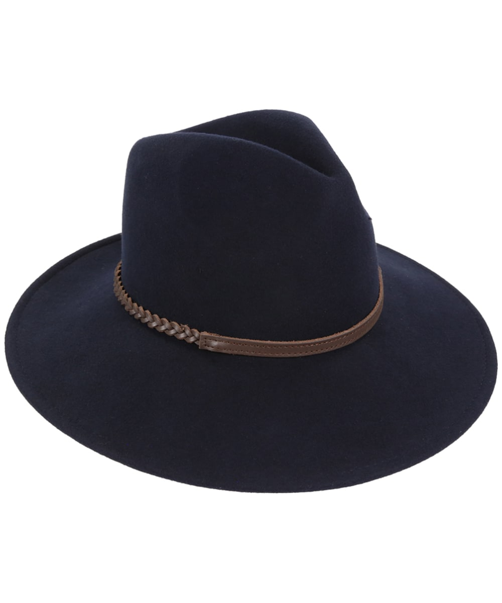 2f754897e1 Barbour Tack Fedora Hat - Navy