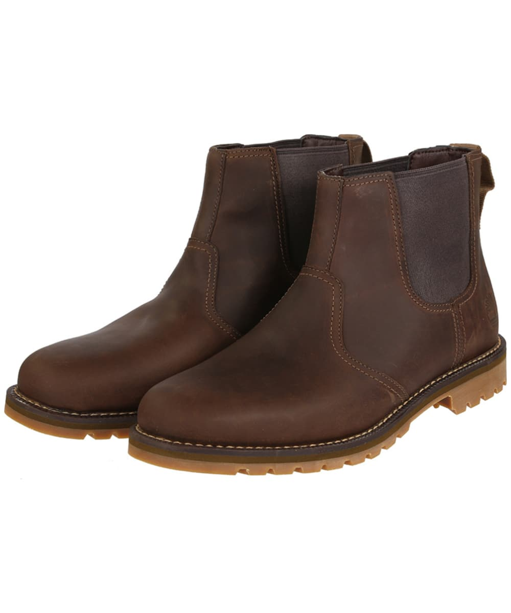 bffb6253430c Men s Timberland Larchmont Chelsea Boots - Dark Brown
