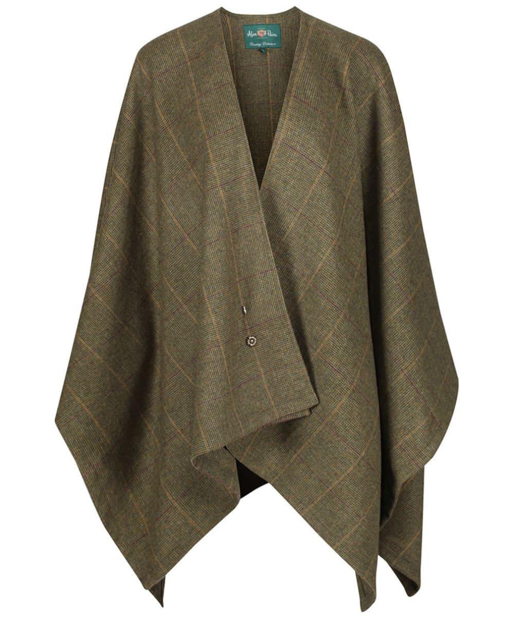 adf957952bd74 Women's Alan Paine Combrook Ladies Tweed Wrap - Heather