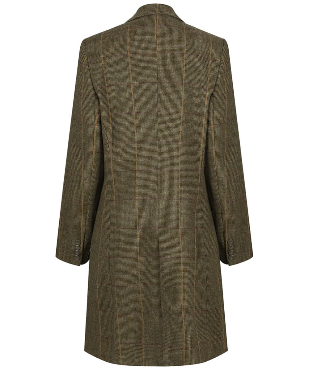 f388bc7516ae9 ... Women's Alan Paine Combrook Tweed Mid Length Coat - Heather ...