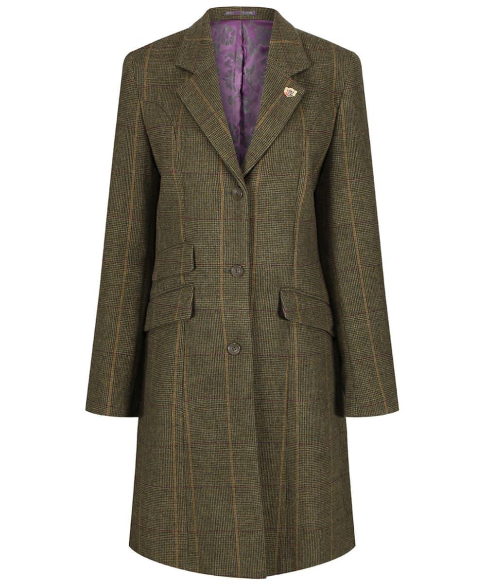 e23704ade416 Women s Alan Paine Combrook Tweed Mid Length Coat - Heather