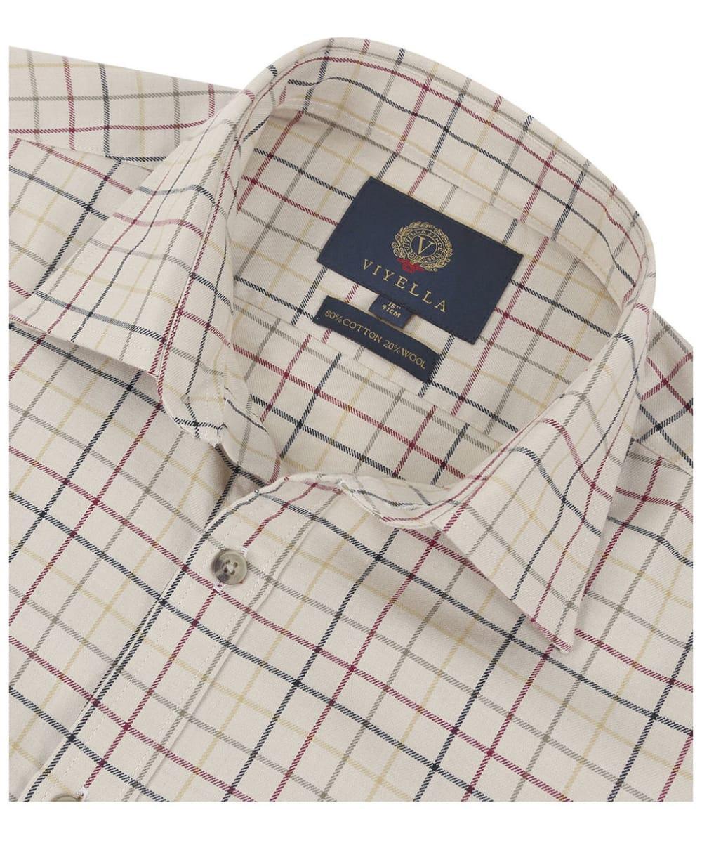 b3538d8723 ... Men s Viyella Coloured Ground Tattersall Shirt - Camel ...