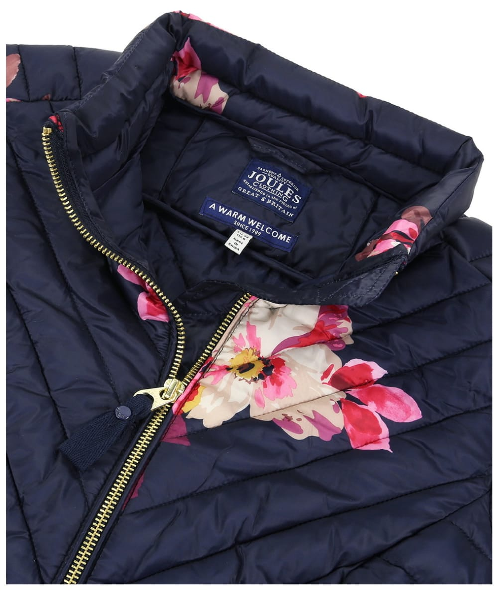 90f7553b4 Women's Joules Elodie Print Quilted Jacket