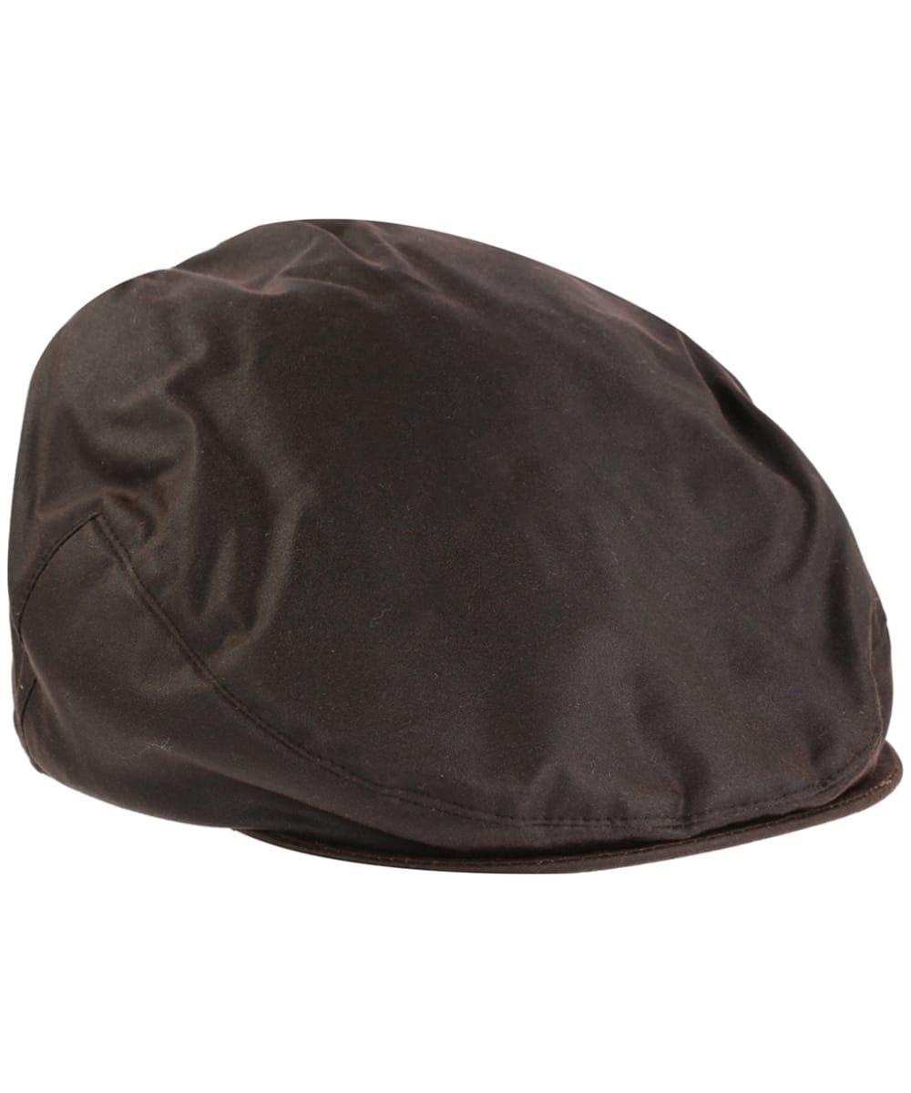 63caabeb91876 Jack Murphy Waxed Flat Cap - Brown