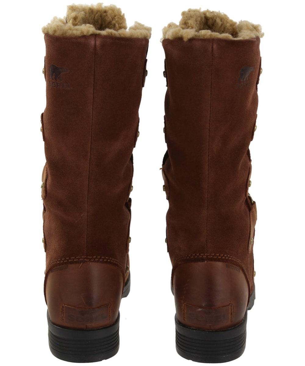 7577558eea6a ... Women s Sorel Emelie Lace Waterproof Boots - Back ...