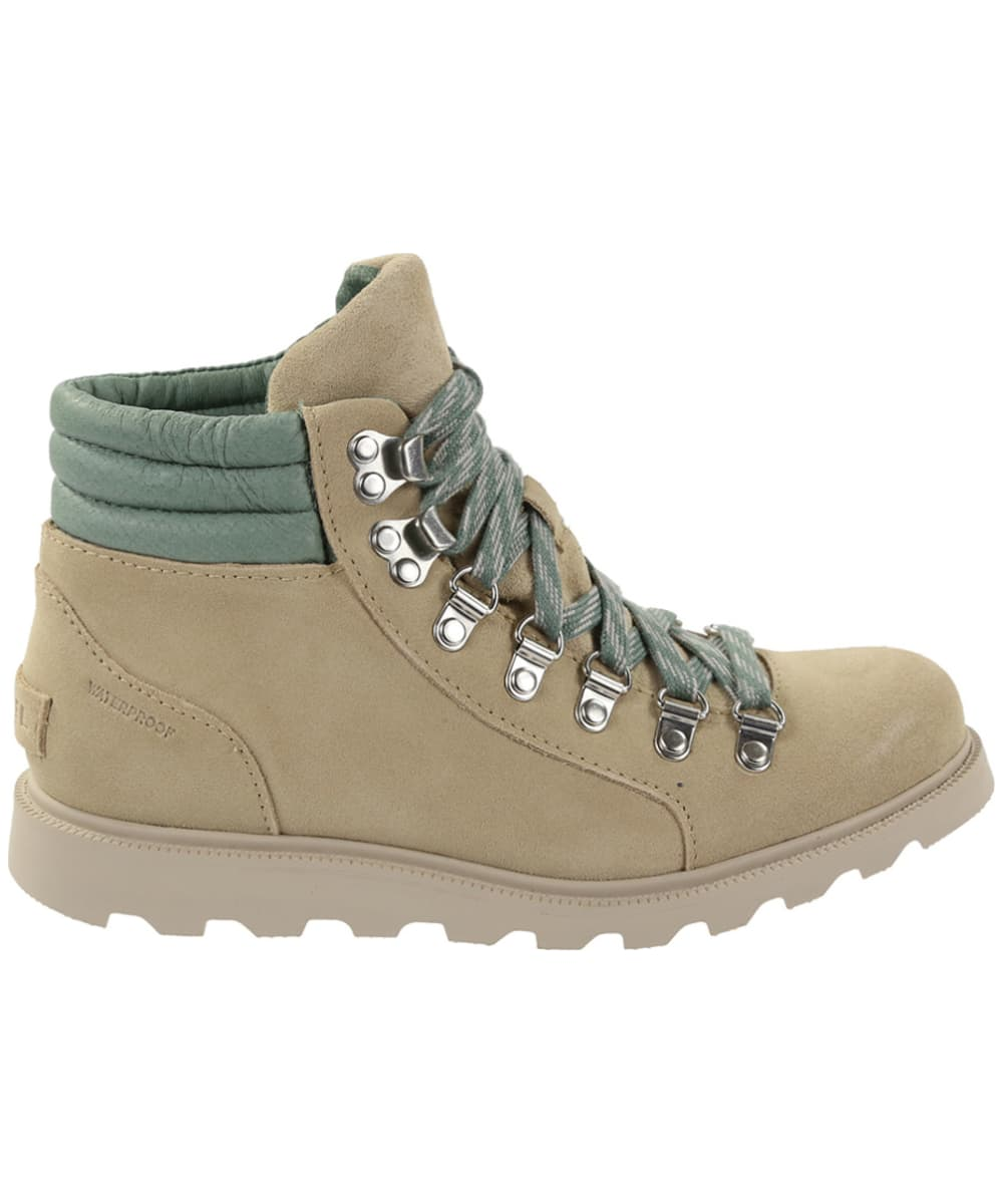 20d2230a6 ... Leather collar Women's Sorel Ainsley Conquest Waterproof Boots - Side  ...