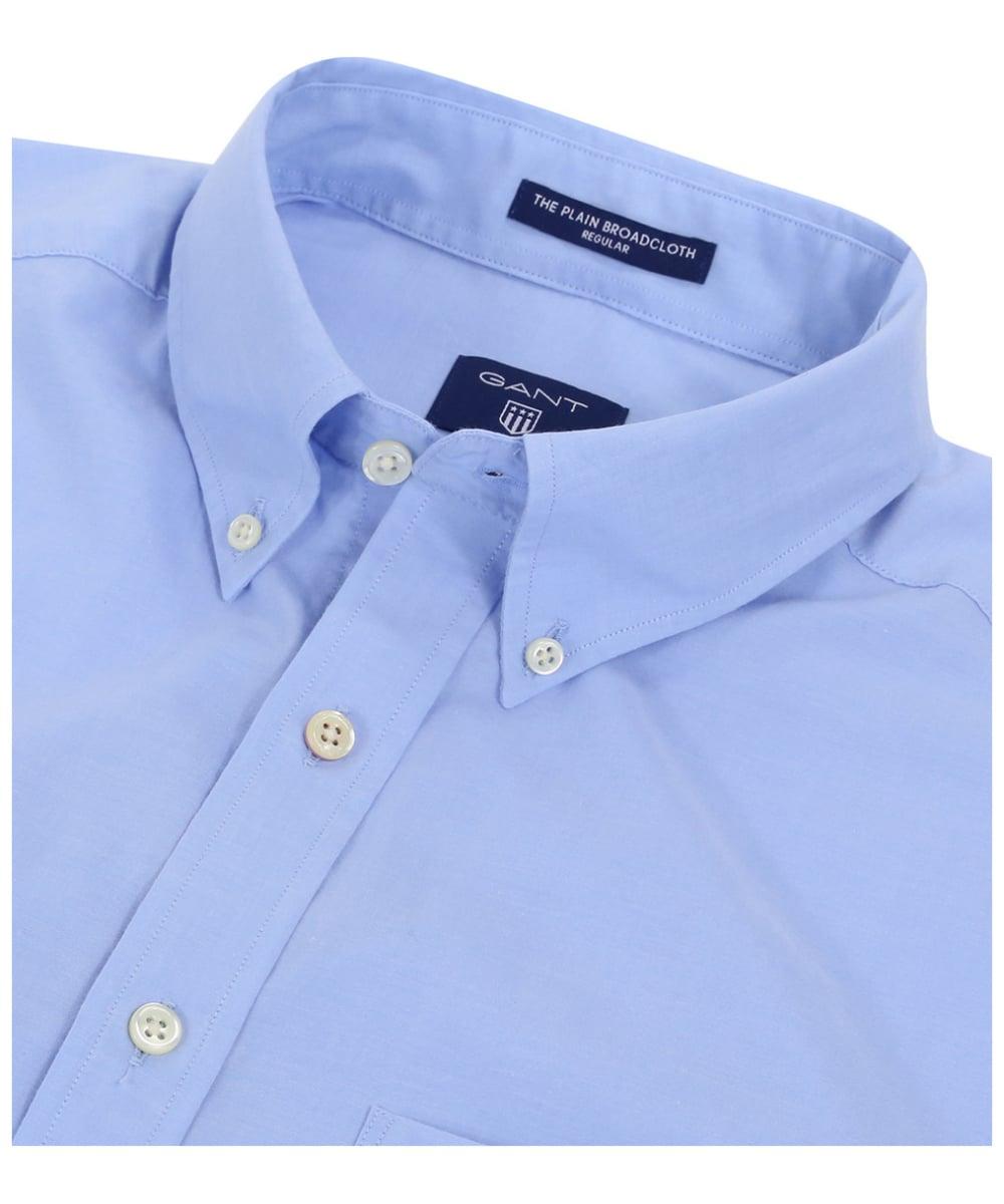 11830475784 ... Men's GANT Regular Broadcloth Shirt - Hamptons Blue ...