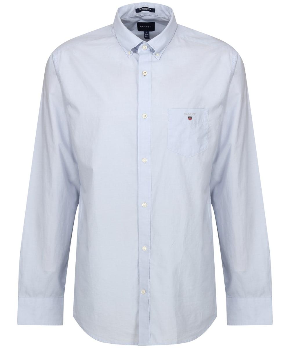 a2986ca8583 Men's GANT Regular Broadcloth Shirt - Hamptons Blue