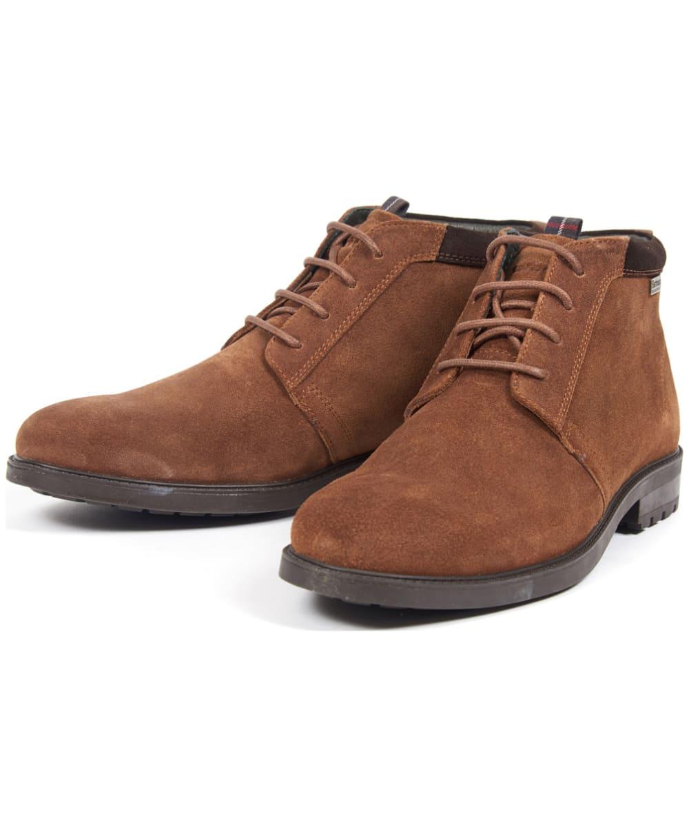 3c97169d4336c ... Men's Barbour Kielder Chukka Boots - Brown ...