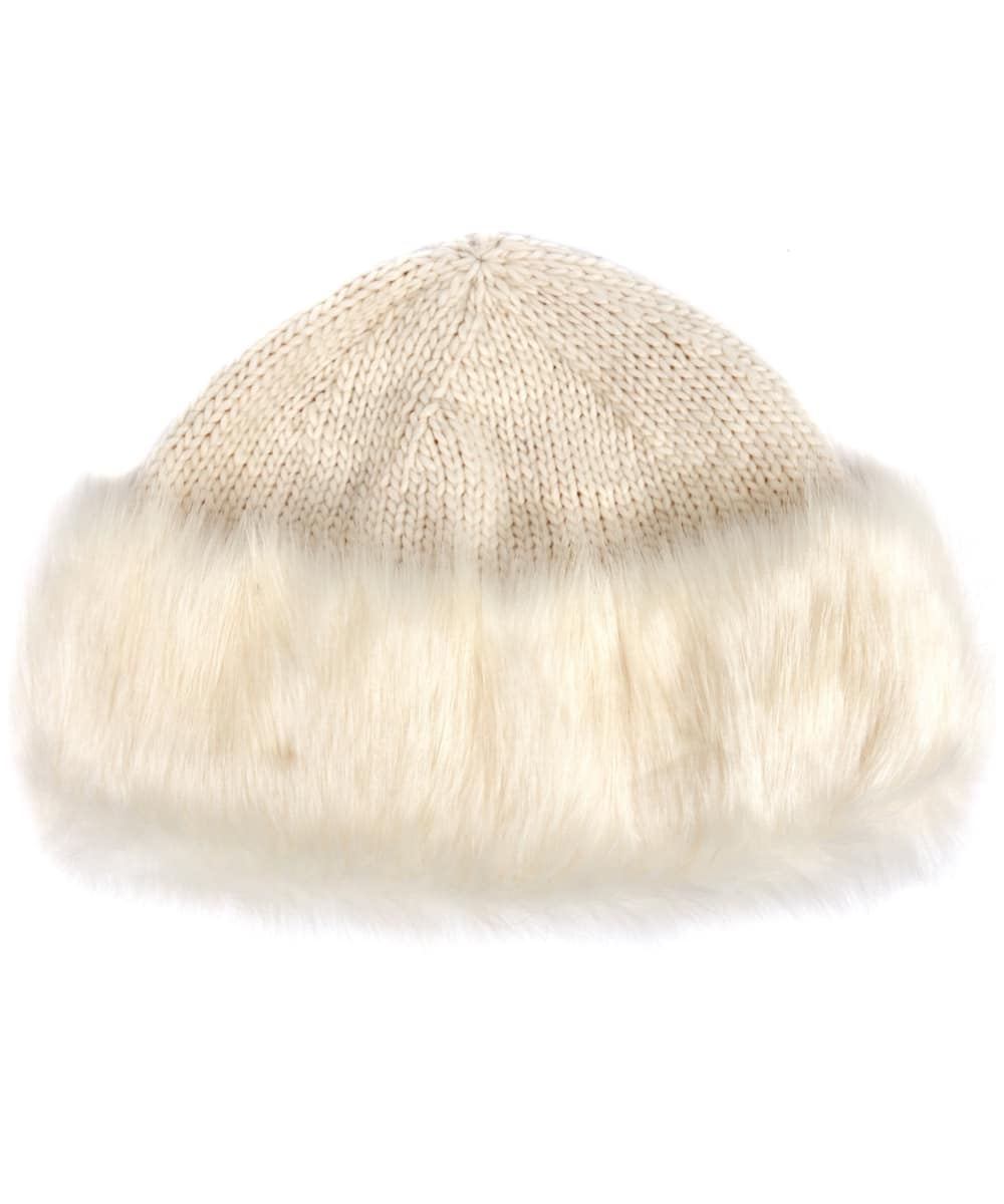 255f3a1cc4d8c Women s Barbour Knitted Ambush Hat - Cloud