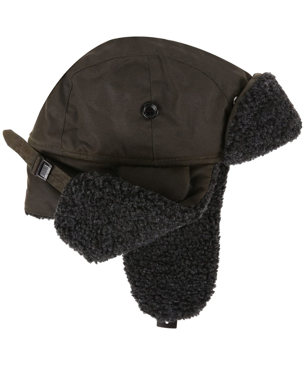 faa118e77 Men's Barbour Fleece Lined Trapper Waxed Hat