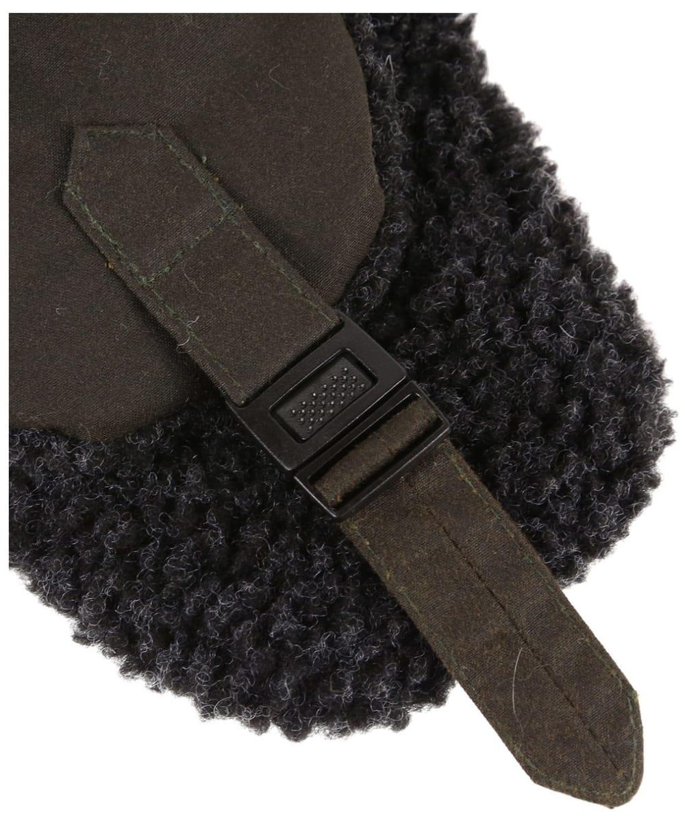 3e17b9c0d9a43 ... Men s Barbour Fleece Lined Trapper Waxed Hat - Olive