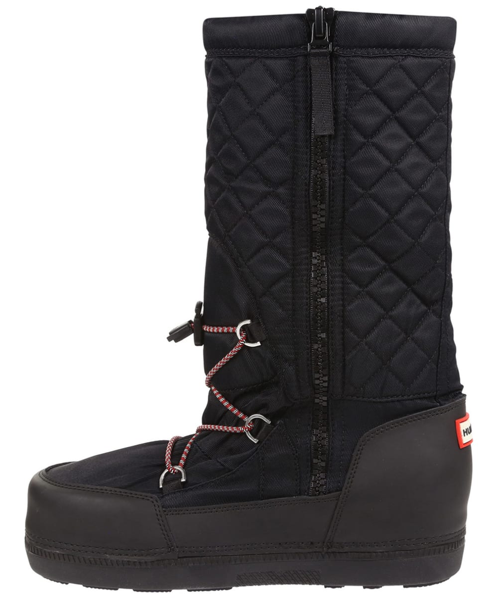 5ef289b665ab ... Women s Hunter Original Quilted Snow Boots - Black