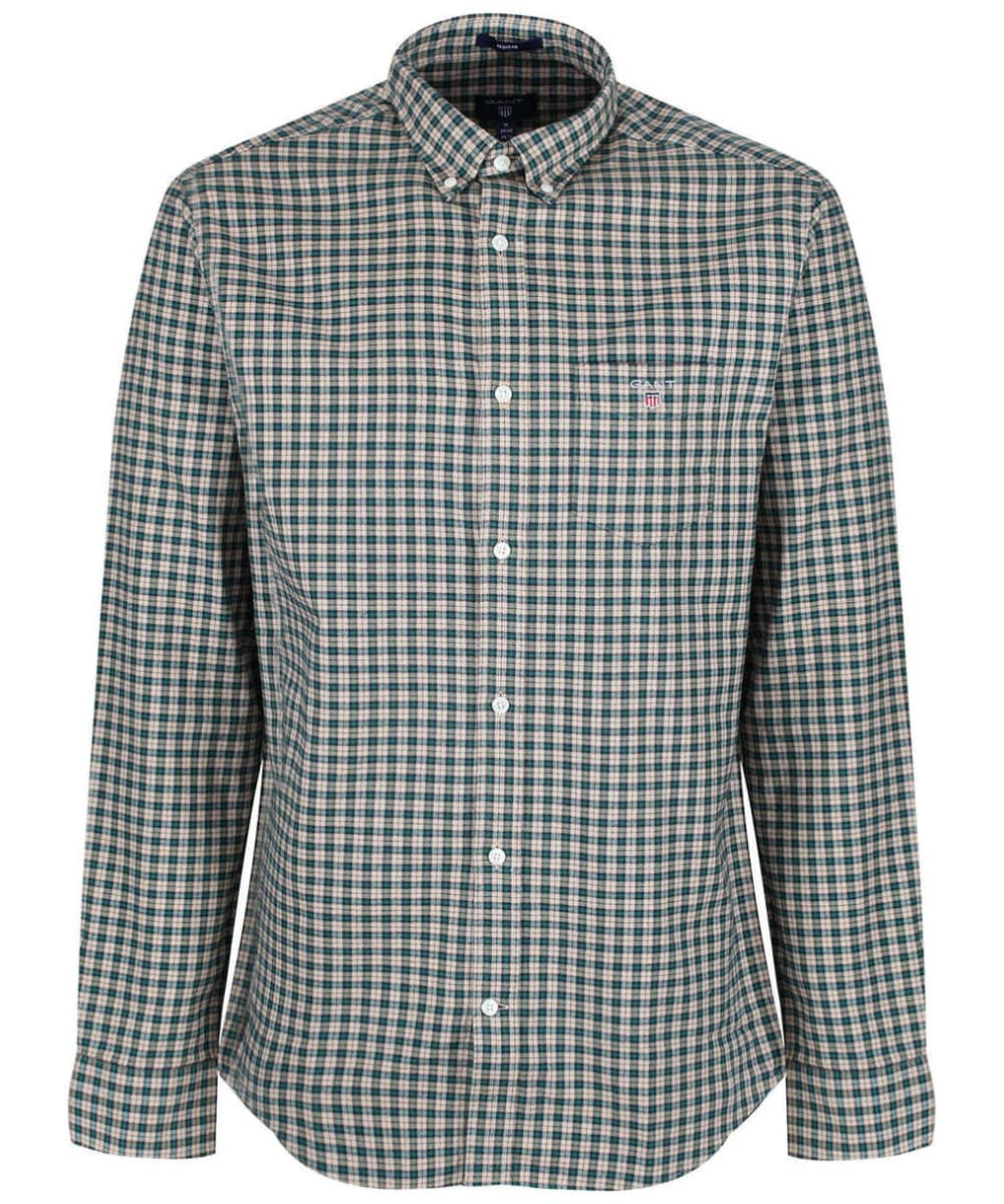 40d3c8291 Men s GANT Oxford Check Shirt - Putty