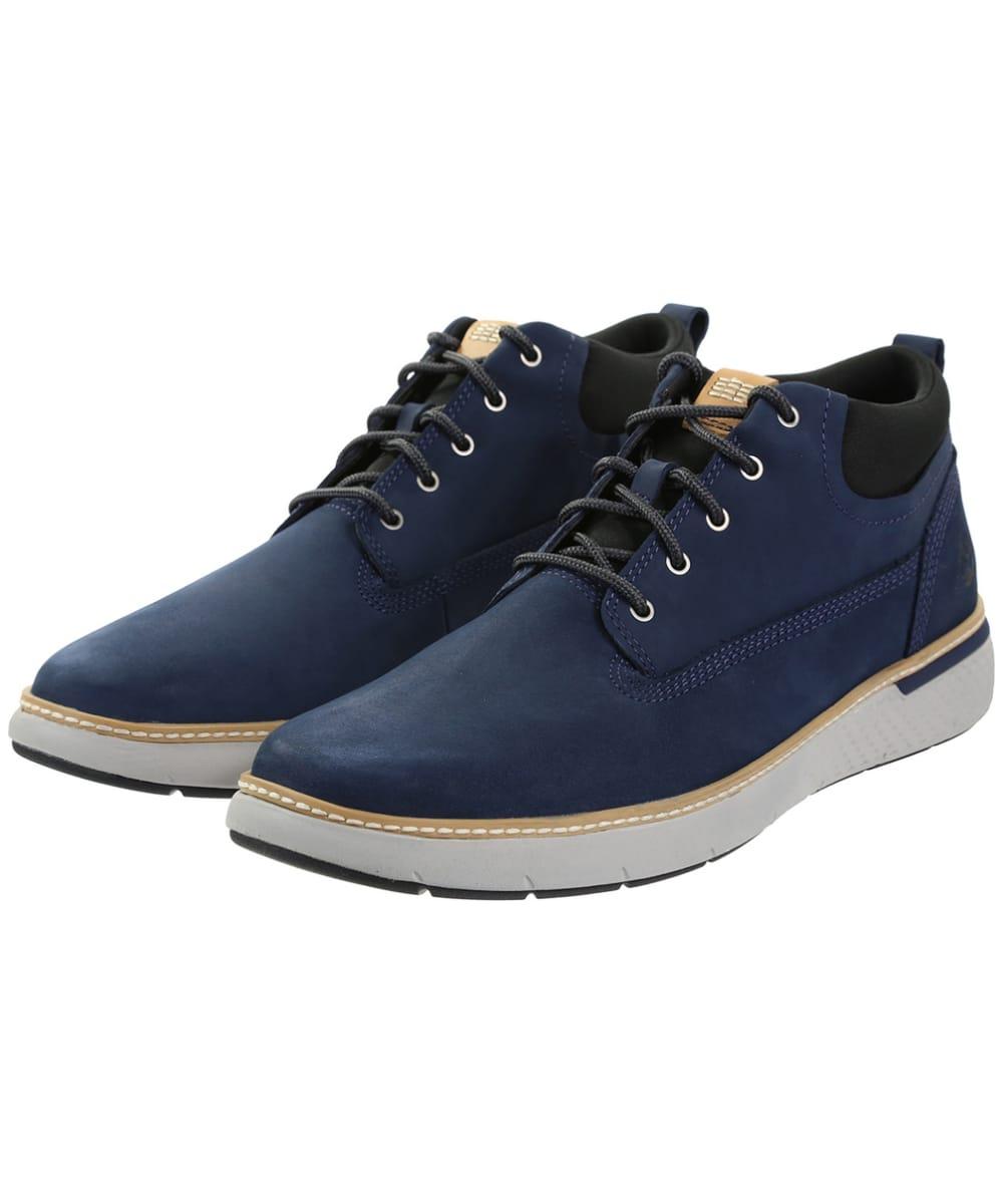 preiswert kaufen heiß-verkaufender Fachmann Kostenloser Versand Men's Timberland Cross Mark Plain Toe Chukka Boots