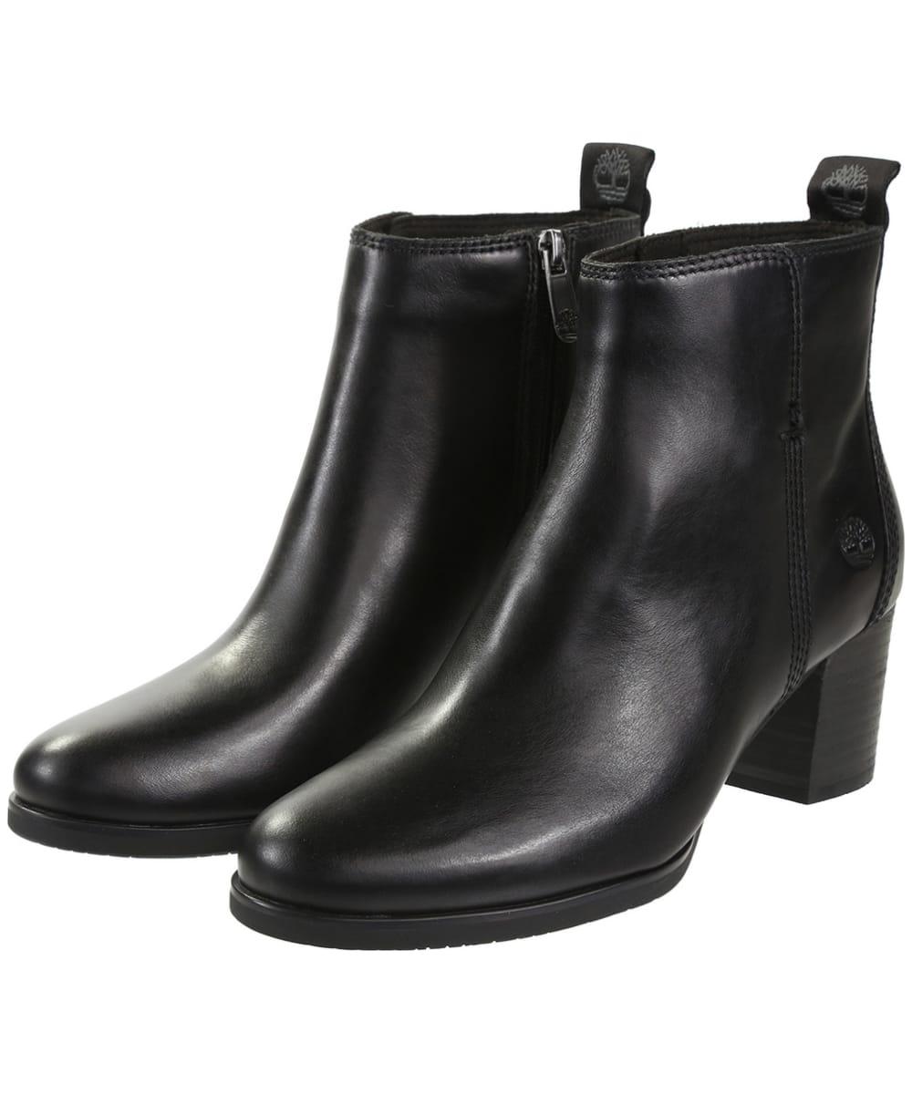 21008c534d8bc Women s Timberland Eleonor Street Booties - Jet Black