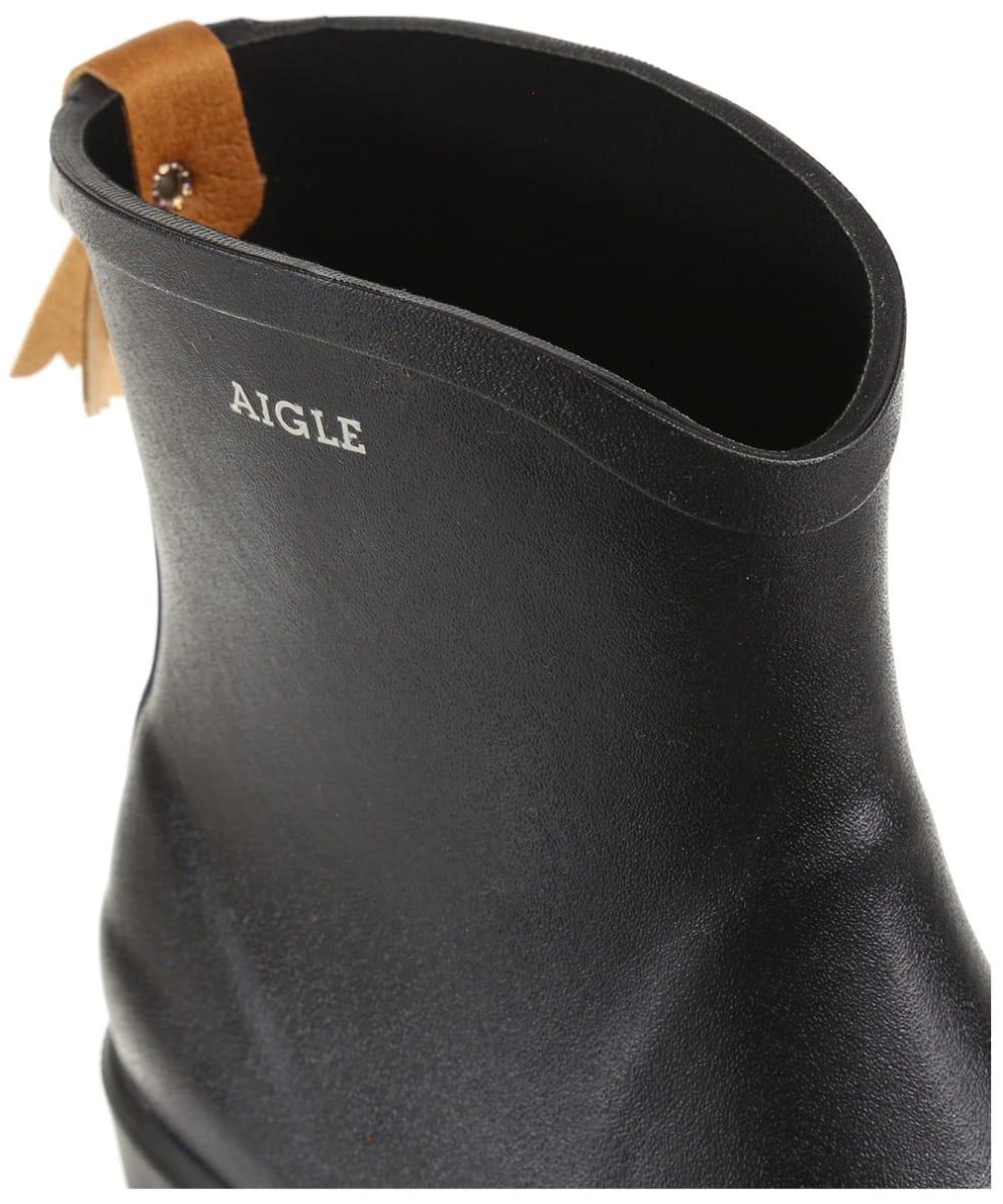 4466cd07c56b8 ... Women s Aigle Miss Juliette Bottillon Ankle Boots - Black ...
