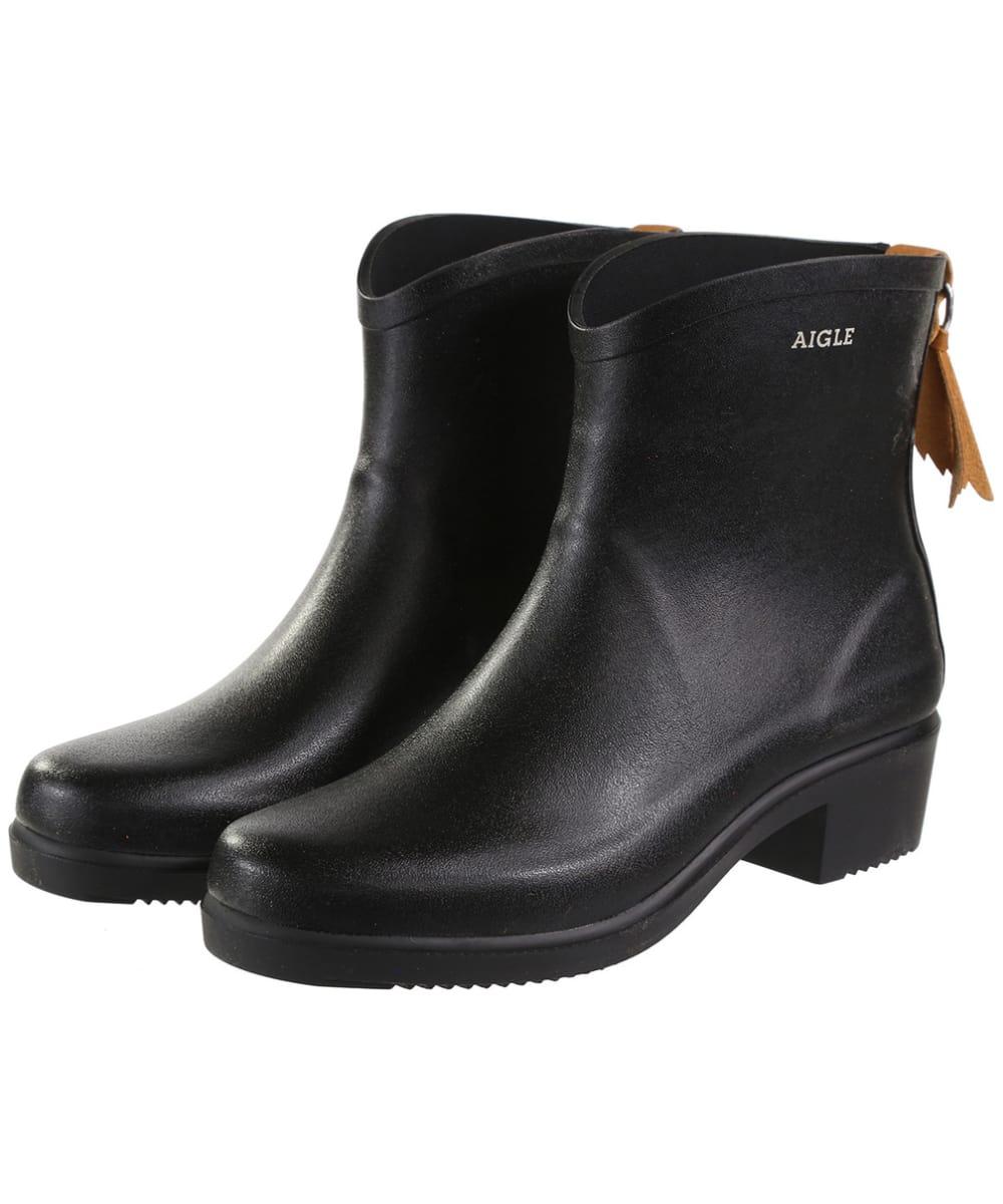 711dbe6198562 Women s Aigle Miss Juliette Bottillon Ankle Boots - Black.